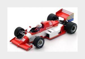【送料無料】模型車 スポーツカー #ベルギーダナースパークモデルzakspeed f1 841 30 belgium gp 1985 cdanner red white spark 143 s1872 model
