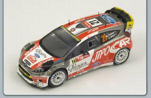 【送料無料】模型車 スポーツカー フォードフィエスタ#モンテカルロプロコプスパークford fiesta rs 21 9th monte carlo 2012 prokophruza 143 spark s3346