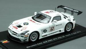 【送料無料】模型車 スポーツカー メルセデスグアテマラスパスパークモデルmercedes sls amg gt3 n62 31th spa 2013 webbwendlinger 143 spark sb048 model