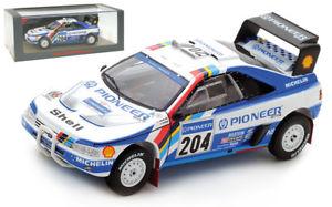 【送料無料】模型車 スポーツカー スパークプジョーパリダカールラリーアリバタネンスケールspark s5616 peugeot 405 t16 winner paris dakar rally 1989 ari vatanen 143 scale