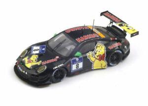 【送料無料】模型車 スポーツカー 2014スパーク143 sg146nurburgring8ポルシェ911 9972 gt3 rチームhariboporsche 911 9972 gt3 r team haribo racing 8 nurburgring 2014 spark