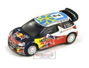 【送料無料】模型車 スポーツカー citroen ds324sweden rally 2011 143スパークs3301citroen ds3 2 4th sweden rally 2011 143 spark s3301