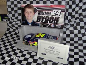 【送料無料】模型車 スポーツカー #サイン2018 willian byron 24 axalta autographed wcoa 124th