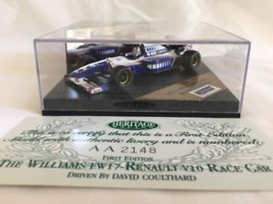 【送料無料】模型車 スポーツカー onyx heritage racing first edition f1 formula1williams fw 17  renault v10 caronyx heritage racing first edition f1 formul