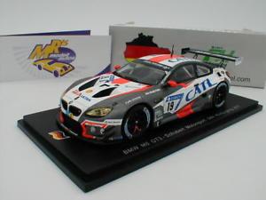 【送料無料】模型車 スポーツカー スパークグアテマラニュルブルクリンクspark sg365 bmw m6 gt3 no 19 24h nrburgring 2017 j kling man 143