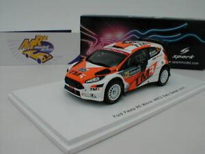【送料無料】模型車 スポーツカー スパークフォードフィエスタラリースウェーデンspark s5966 ford fiesta r5 no 35 rally sweden 2018 t katsuta 143