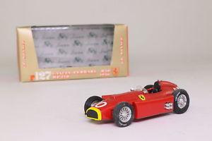 【送料無料】模型車 スポーツカー モナコグランプリbrumm r127; lanciaferrari d50; 1956 monaco gp 4th; fangio rn20; excellent boxed