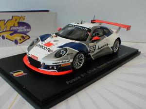 【送料無料】模型車 スポーツカー スパークポルシェグアテマラスパspark sb152 porsche 911 gt3 no 912 r 24h spa 2017 all manbohn 143