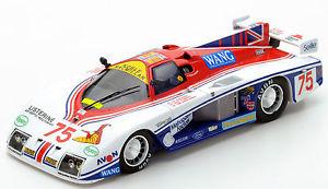【送料無料】模型車 スポーツカー スパーク#ルマン.s4097 spark 143 gebhardt jc843 75 8th le mans 1986 i harrower e clements