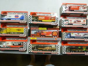 【送料無料】模型車 スポーツカー マッチホーラトランスポーターロットlot of 10 matchbox nascar hauler transporters 1