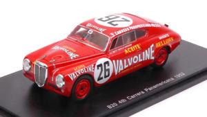【送料無料】模型車 スポーツカー ランチアアウレリア#カレラlancia aurelia b20 26 4th carrera panamerican 1952 u maglioli bornigia 143