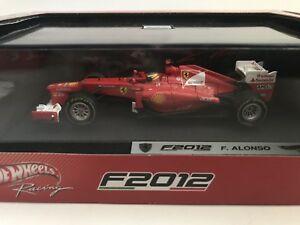 【送料無料】模型車 スポーツカー フェラーリアロンソフォーミュラhotwheels x5522 ferrari f2012f alonso 2nd formula 1 2012 143