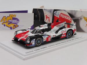 【送料無料】模型車 スポーツカー スパークトヨタハイブリッドルマンレースspark 43lm18 toyota ts050 hybrid 8 winner 24h le mans 2018 gazoo race 143
