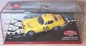 【送料無料】模型車 スポーツカー ロータスエリートmdaviesモンテカルロラリー1962lotus elite mdavies monte carlo rally 1962 in case