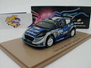【送料無料】模型車 スポーツカー スパークフォードフィエスタラリーイタリアspark s5167 ford fiesta wrc no 2 winner rally italy 2017 o tnak 143