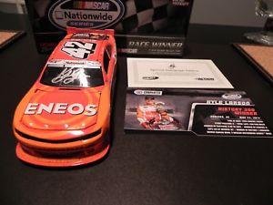 【送料無料】模型車 スポーツカー nascar 2014 kyle larson42 enos nationwide winautographed versionnascar 2014 kyle larson 42 enos nationwide win autographed