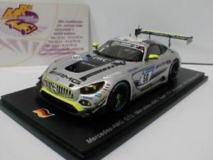 【送料無料】模型車 スポーツカー スパークメルセデスベンツグアテマラニュルブルクリンクバウマンspark sg319 mercedesbenz amg gt3 50 24h nrburgring 2017 baumann 143