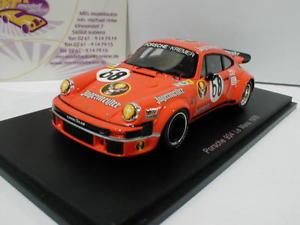 【送料無料】模型車 スポーツカー スパークポルシェルマンspark s4424 porsche 934 68 24h lemans 1978 dren, holup, poulain, feitler 143