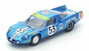 【送料無料】模型車 スポーツカー スパークアルパインルマンspark 143 alpine a210 11th lemans 1968 s4374