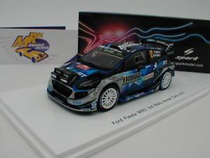【送料無料】模型車 スポーツカー スパークs5161フォードフィエスタwrcモンテカルロ2017tanakjarveoja143spark s5161 ford fiesta wrc rally monte carlo 2017 tnakjrveoja 143