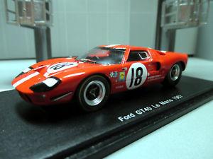 【送料無料】模型車 スポーツカー フォード#ルマンスパークトップ143 ford gt40 18 u magliolim casoni 24h le mans 1967 spark s5178 ovp top