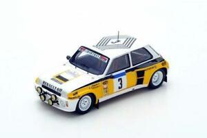 【送料無料】模型車 スポーツカー 1984s3863 143ルノー5ターボn3ツールドフランスspark 143 renault 5 turbo n3 winner tour de france 1984 s3863