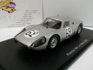 【送料無料】模型車 スポーツカー スパークポルシェルマンspark s4684 porsche 90404 gts 62 lemans 1965 stommelen 143