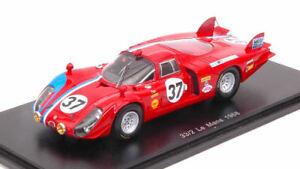 【送料無料】模型車 スポーツカー アルファロメオ#リタイアモデルスパークモデルalfa romeo t332 37 dnf lm 1968 tpilette r slotemaker 143 model spark model