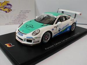 【送料無料】模型車 スポーツカー スパークポルシェグアテマラドイツミュラーspark sg273 porsche 911 991 gt3 cup 7 pcc germany 2016 s mller 143