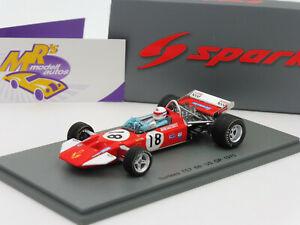 【送料無料】模型車 スポーツカー スパークグランプリデレクベルspark s5401 sutrees ts7 18 us grand prix f1 1970 derek bell 143