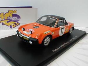 【送料無料】模型車 スポーツカー スパークポルシェモンテカルロラリーアンダーソンspark s5584 porsche 9146 nr 17 monte carlo rally 1971 a andersson 143
