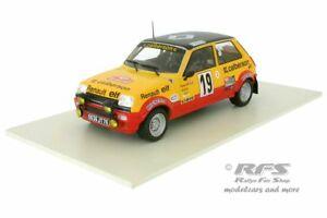 【送料無料】模型車 スポーツカー ルノーアルパインモンテカルロラリーネットワークrenault 5 alpine calberson monte carlo rally 1978 ragnotti 118 altaya ixo