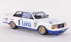 【送料無料】模型車 スポーツカー ボルボターボマグナムダコルサネオvolvo 240 turbo 8 magnum da corsa etcc 1985 neoscale 143 neo45563