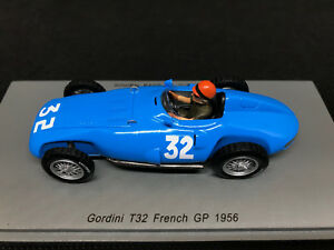 【送料無料】模型車 スポーツカー #ダシルヴァラモスフランススパーク143 gordini t32 32 hermano da silva ramos gp france 1956 spark s5313