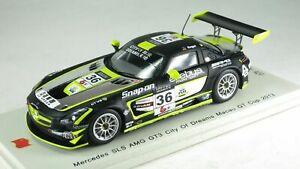【送料無料】模型車 スポーツカー スパークメルセデスベンツグアテマラマカオグアテマラカップspark 143 mercedes benz sls amg gt3 n 36 city of dreams macau gt cup 2013 sa05