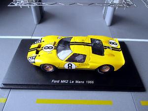 【送料無料】模型車 スポーツカー フォード#ガードナールマンスパークトップ143 ford mk2 8 gardnerwhitmore 24h le mans 1966 spark s5184 ovp top