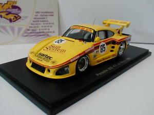 【送料無料】模型車 スポーツカー スパークポルシェルマンヘイウッドspark s5500 porsche 935 k3 85 24h lemans 1980 haywood 143