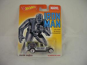 【送料無料】模型車 スポーツカー ホットホイールマーベルアイアンマンダッジリアルライダーhot wheels marvel iron man 34 dodge delivery real riders