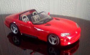 【送料無料】模型車 スポーツカー 118buragododge viper rt10redexcellent loose modeluk freepost118 burago dodge viper rt10 ,red excellent loose modeluk fre