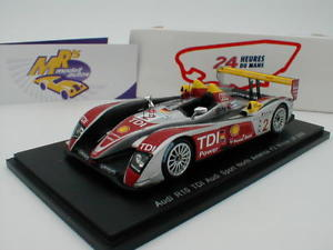 【送料無料】模型車 スポーツカー スパーク43lm08アウディr10 tdi 224hルマン2008カペロ143 spark 43lm08 audi r10 tdi 2 winner 24h le mans 2008 capello 143