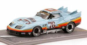 【送料無料】模型車 スポーツカー コルベットグリーンウッド#モデルmancuso corvette greenwood 76 imsa 1977 143 bizarre bz132 model