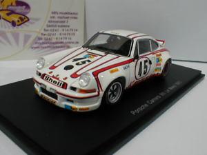 【送料無料】模型車 スポーツカー スパークポルシェカレラルマンクレーメルspark s4688 porsche 911 carrera rsr 45 8th le mans 1973 e kremer 143