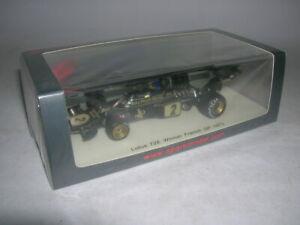 【送料無料】模型車 スポーツカー フォーミュラロータスフランスグランプリロニーピーターソン# listingspark formula 1 lotus 72e winner french gp 1973 ronnie peterson 143 2 s7128