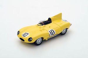 【送料無料】模型車 スポーツカー スパークジャガータイプ#ルマンクラースs4388 spark 143jaguar dtype 10 3rd place le mans 1955 j claes j swaters