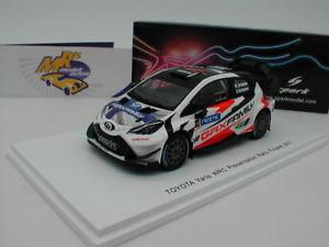 【送料無料】模型車 スポーツカー スパークs5170トヨタyaris wrc presentationラリーフィンランド2017グロンホルム143spark s5170 toyota yaris wrc presentation rally finland 2017 grnho