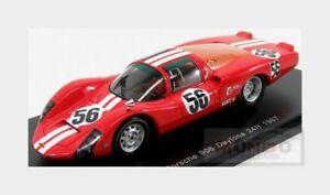 【送料無料】模型車 スポーツカー ポルシェ#デイトナスパークporsche 906 lh 56 24h daytona 1967 w habegger c vogele red spark 143 s5422 mod