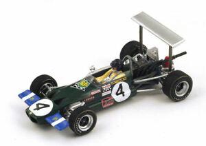 【送料無料】模型車 スポーツカー ロータスリントポーグランプリスパークモデルlotus 59 j rindt 1969 n4 winner pau gp f2 143 spark s4276 model