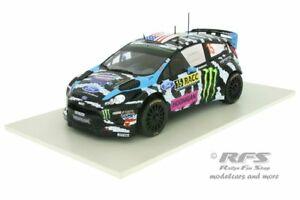 【送料無料】模型車 スポーツカー フォードフィエスタrs wrcケンブロックcatalunya2014118 ixo 18rmc017