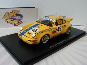 【送料無料】模型車 スポーツカー スパークs5511ポルシェカレラrsr 4524hルマン1994 wlazik143spark s5511 porsche carrera rsr 45 24h le mans 1994 wlazikjudges 143