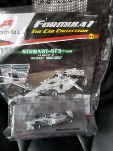 【送料無料】模型車 スポーツカー フォーミュラカーコレクションスチュワートformula 1 car collection stewart sf3 issue 64
